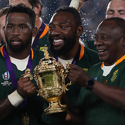 General views during the Rugby World Cup Final match between South Africa Springboks and England Rugby World Cup Final at the International Stadium Yokohama  Japan.Saturday 02 November 2019. (Mandatory Byline - Fotosport/David Gibson)