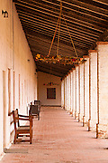 Corridor, Mission San Antonio de Padua (3rd California Mission - 1771), California