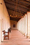 Corridor, Mission San Antonio de Padua (3rd California Mission - 1771), California
