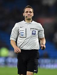 Referee, Craig Pawson  - Mandatory byline: Joe Meredith/JMP - 07966 386802 - 26/10/2015 - FOOTBALL - Cardiff City Stadium - Cardiff, Wales - Cardiff City v Bristol City - Sky Bet Championship