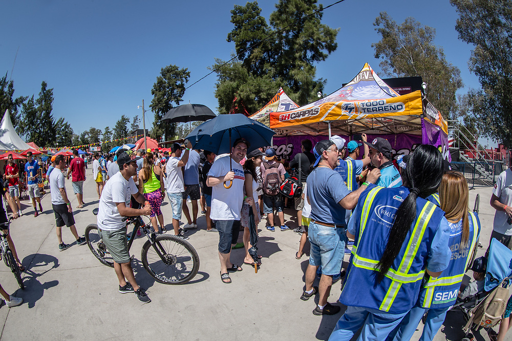Autograph Session during Round 9 of the 2019 UCI BMX Supercross World Cup in Santiago del Estero, Argentina