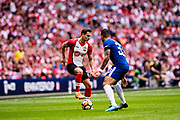 *** during the The FA Cup match between Chelsea and Southampton at Wembley Stadium, London, England on 22 April 2018. Picture by Sebastian Frej.