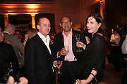 TOM HAMPSON-BELLON, BRUCE OLDFIELD AND FLORA ASTOR , Montblanc and Katherine Jenkins celebrate The launch of Montblanc's First Fine Jewellery Collectgion. V. & A. London. 24 April 2007.  -DO NOT ARCHIVE-© Copyright Photograph by Dafydd Jones. 248 Clapham Rd. London SW9 0PZ. Tel 0207 820 0771. www.dafjones.com.