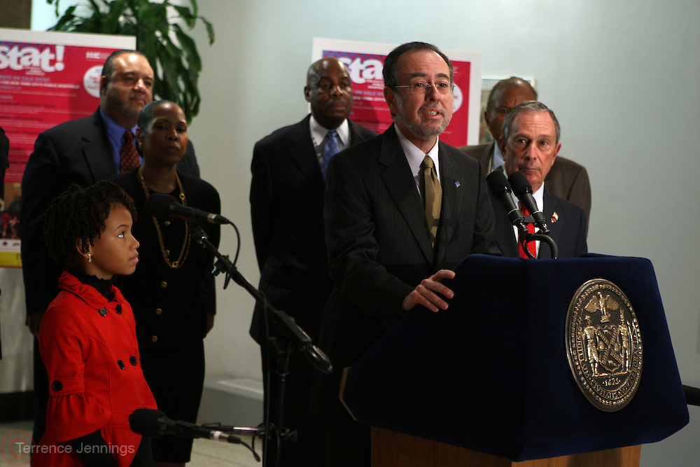 29 November 2010- New York, NY- Alan D. Aviles, President & Chief Executive, NYC Health & Hospitals Corporation at the ' Stat! For NYC's Public Hospitals! ' Press Conference held at Kings County Hospital on November 29, 2010 in Brooklyn, NY. Photo Credit: Terrence Jennings