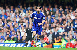 LONDON, ENGLAND - Sunday, May 3, 2015: Chelsea's Cesc Fabregas in action against Crystal Palace during the Premier League match at Stamford Bridge. (Pic by David Rawcliffe/Propaganda)