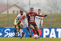 Idriss SAADI - 24.01.2015 - Clermont / Chateauroux  - 21eme journee de Ligue2<br />