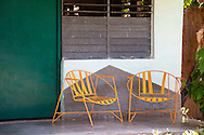 Porch chairs in San Ramon, Granma, Cuba.
