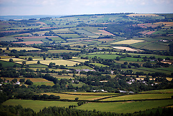 UK ENGLAND CORNWALL 23UN15 - View of the Tamar Valley from Kit Hill towards Plymouth, Cornwall.<br /> <br /> jre/Photo by Jiri Rezac / WWF UK<br /> <br /> © Jiri Rezac 2015
