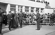 Cardinal William Conway on his return from Rome where he had been elevated to the cardinalate..02.03.1965