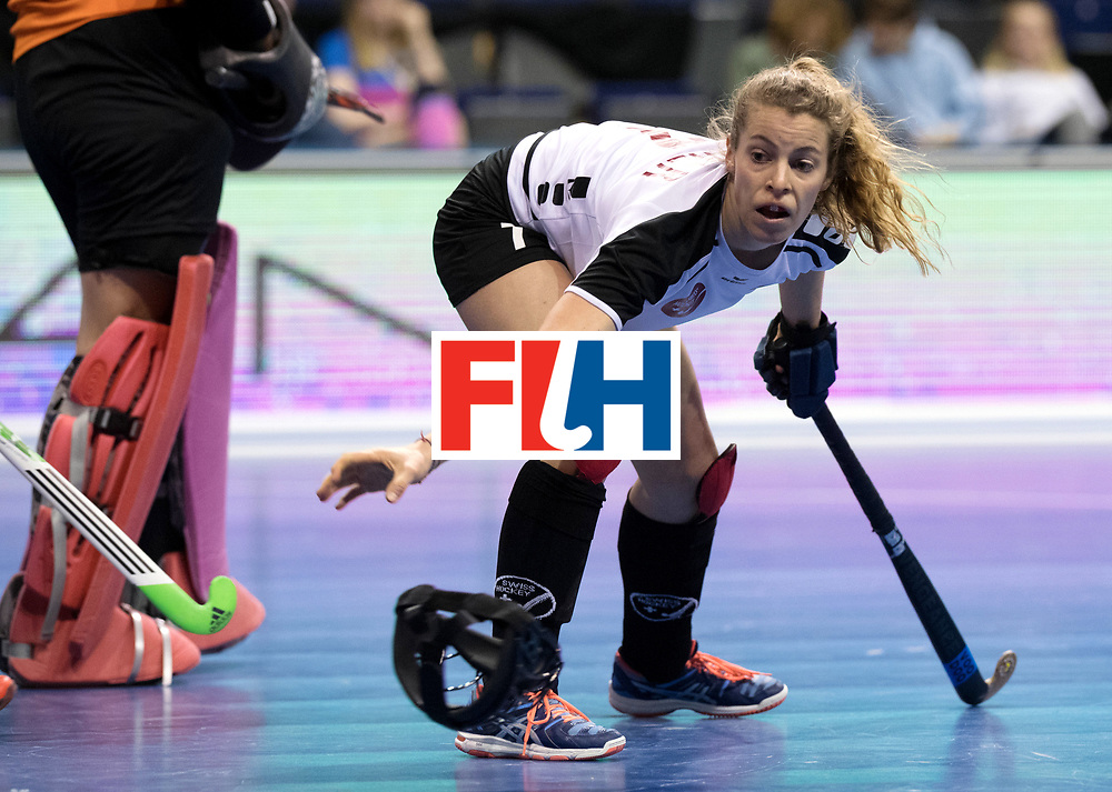 BERLIN - Indoor Hockey World Cup<br /> Women: Switzerland - Belarus<br /> foto: <br /> WORLDSPORTPICS COPYRIGHT FRANK UIJLENBROEK