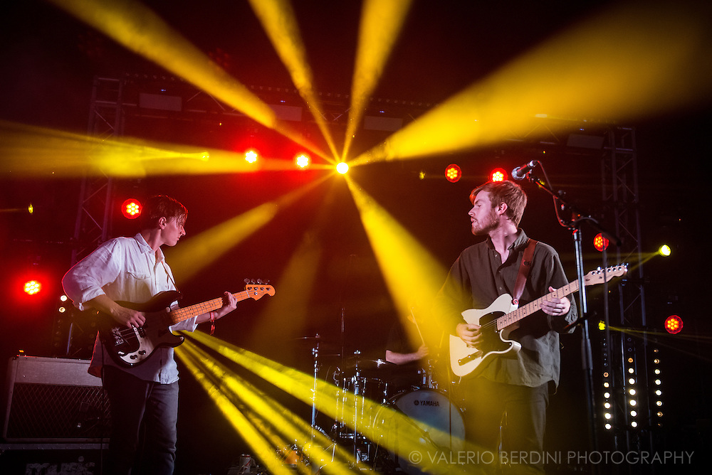Wild Nothing at the first day of Field Day Festival in London on Saturday, 11 June 2016.