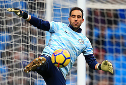 Claudio Bravo of Manchester City warms up - Mandatory by-line: Matt McNulty/JMP - 23/12/2017 - FOOTBALL - Etihad Stadium - Manchester, England - Manchester City v Bournemouth - Premier League