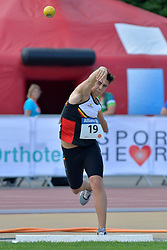 05/08/2017; Clinquart, Simon, F46, BEL at 2017 World Para Athletics Junior Championships, Nottwil, Switzerland