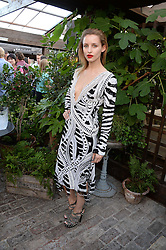 GEM ROFOUFI attending the Warner Bros. & Esquire Summer Party held at Shoreditch House, Ebor Street, London E1 on 18th July 2013.