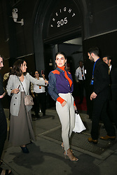 September 12, 2018 - New York, New York, United States - Camila Coelho attends Calvin Klein show during New York Fashion Week on September 11, 2018 in New York City. (Credit Image: © Oleg Chebotarev/NurPhoto/ZUMA Press)