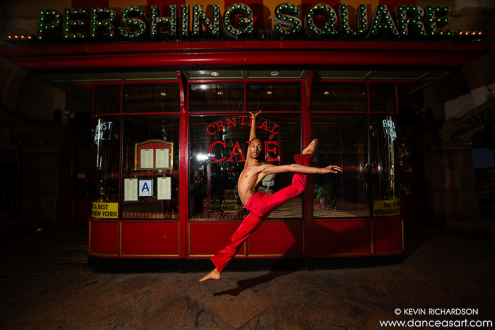 Pershing Square New York City Dance as Art The New York Photography Project featuring Andre Street