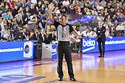 DESCRIZIONE : Campionato 2014/15 Virtus Acea Roma - Enel Brindisi<br /> GIOCATORE : Saverio Lanzarini<br /> CATEGORIA : Arbitro Referee Mani<br /> SQUADRA : AIAP<br /> EVENTO : LegaBasket Serie A Beko 2014/2015<br /> GARA : Virtus Acea Roma - Enel Brindisi<br /> DATA : 19/04/2015<br /> SPORT : Pallacanestro <br /> AUTORE : Agenzia Ciamillo-Castoria/GiulioCiamillo