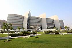 October 9, 2018 - Doha, Qatar - Sidra Medical & Research Centre, a women and children's hospital in Doha, capital of Qatar (Credit Image: © Dominic Dudley/Pacific Press via ZUMA Wire)
