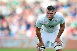 Jack Willis of England U20 - Mandatory byline: Patrick Khachfe/JMP - 07966 386802 - 25/06/2016 - RUGBY UNION - AJ Bell Stadium - Manchester, England - England U20 v Ireland U20 - World Rugby U20 Championship Final 2016.