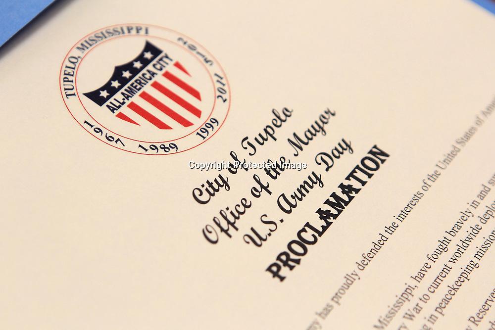 U.S. Army Proclamation