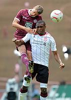 Fotball<br /> Tyskland<br /> 24.07.2010<br /> Foto: Witters/Digitalsport<br /> NORWAY ONLY<br /> <br /> v.l. Ivo Ilicevic, David Amoo Liverpool<br /> <br /> Testspiel 1. FC Kaiserslautern - FC Liverpool