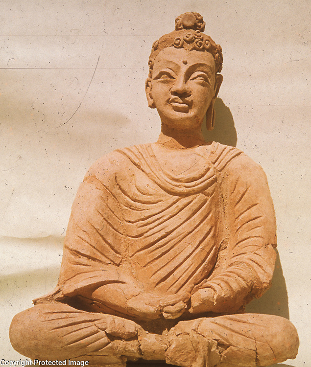 1970s<br /> Seated Buddha in conventional form. <br /> Photo: Maurizio Taddei