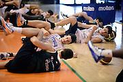 Biella, 15/12/2012<br /> Basket, All Star Game 2012<br /> Allenamento Nazionale Italiana Maschile <br /> Nella foto: team<br /> Foto Ciamillo