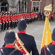NLD/Den Haag/20190917 - Prinsjesdag 2019, Grenadiers met het Vaandel