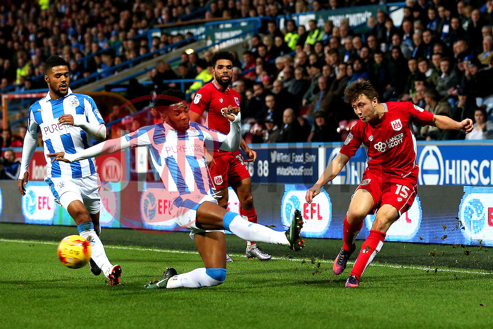 Luke Freeman of Bristol City crosses the ball - Mandatory by-line: Matt McNulty/JMP - 10/12/2016 - FOOTBALL - The John Smith's Stadium - Huddersfield, England - Huddersfield Town v Bristol City - Sky Bet Championship