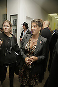 Tracey Emin, Johnnie Shand Kydd:  book launch party celebrate the publication of Crash.White Cube. Hoxton sq. London. 18 September 2006. ONE TIME USE ONLY - DO NOT ARCHIVE  © Copyright Photograph by Dafydd Jones 66 Stockwell Park Rd. London SW9 0DA Tel 020 7733 0108 www.dafjones.com