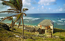 Storm Damaged House, Barbados