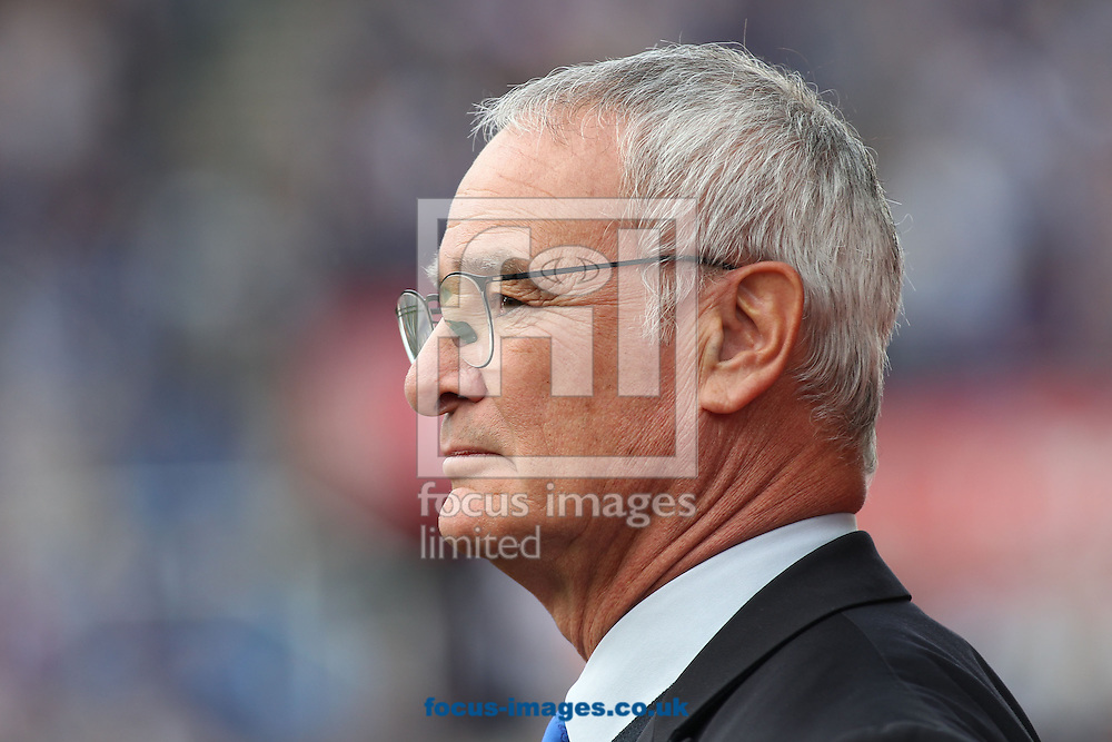 Claudio Ranieri manager of Leicester City on the touchline prior to the Barclays Premier League match against Stoke City at the Britannia Stadium, Stoke-on-Trent.<br /> Picture by Michael Sedgwick/Focus Images Ltd +44 7900 363072<br /> 19/09/2015