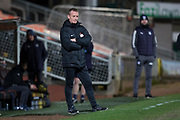 United coach Dave Bowman - Dundee United v Dundee, SPFL Under 20 Development League at Tannadice Park, Dundee<br /> <br />  - © David Young - www.davidyoungphoto.co.uk - email: davidyoungphoto@gmail.com
