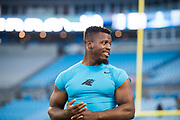 October 17, 2017: Carolina Panthers vs the Philadelphia Eagles. Jonathan Stewart