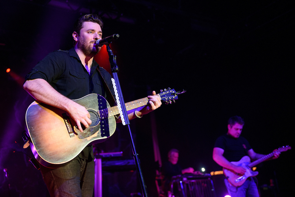 """Photos of Chris Young performing live on the """"I'm Comin' Over"""" Tour 2016 at PlayStation Theater, NYC on February 25, 2016. © Matthew Eisman/ Getty Images. All Rights Reserved"""