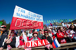 Fans during Flying Hill Individual Final Round at 4th day of FIS Ski Jumping World Cup Finals Planica 2011, on March 20, 2011, Planica, Slovenia. (Photo By Matic Klansek Velej / Sportida.com)