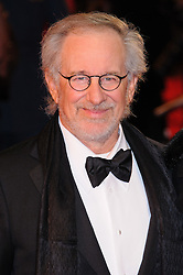 Steven Spielberg attends the UK premiere of War Horse at Odeon Leicester Square, London, Sunday January 8, 2012. Photo By i-Images..