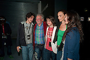JACK DANIELS THOMPSON; DAVID BAILEY; SASCHA BAILEY, CATHERINE BAILEY; PALOMA BAILEY, Nokia and Daid Bailey celebrate London ' Alive at Night' to launch Nokia N86. the Old Dairy, 6 Wakefield st. London. WC1. 26 August 2009.