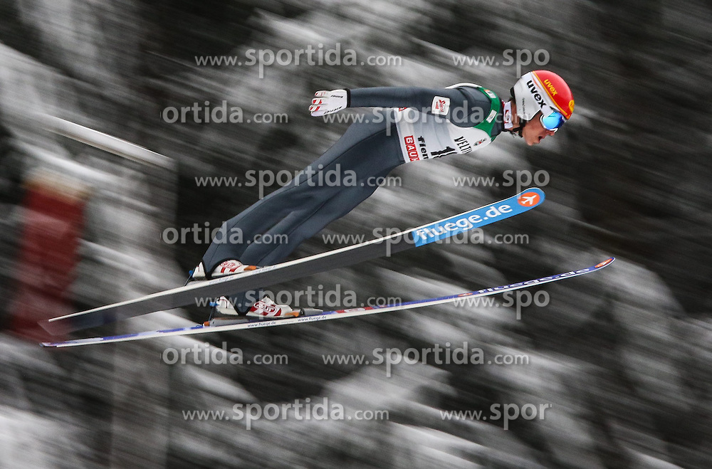 30.01.2015, Skisprungstadion, Predazzo, ITA, FIS Weltcup Nordische Kombination, Val di Fiemme, Skisprung, im Bild Tomaz Druml (AUT) // during skijumping of the FIS Nordic Combined World Cup Val di Fiemme at the Skisprungstadion in Predazzo, Italy on 2015/01/30. EXPA Pictures © 2015, PhotoCredit: EXPA/ Alice Russolo