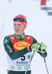 16.12.2017, Nordische Arena, Ramsau, AUT, FIS Weltcup Nordische Kombination, Langlauf, im Bild Luis Lehnert (GER) // Luis Lehnert of Germany during Cross Country Competition of FIS Nordic Combined World Cup, at the Nordic Arena in Ramsau, Austria on 2017/12/16. EXPA Pictures © 2017, PhotoCredit: EXPA/ Martin Huber