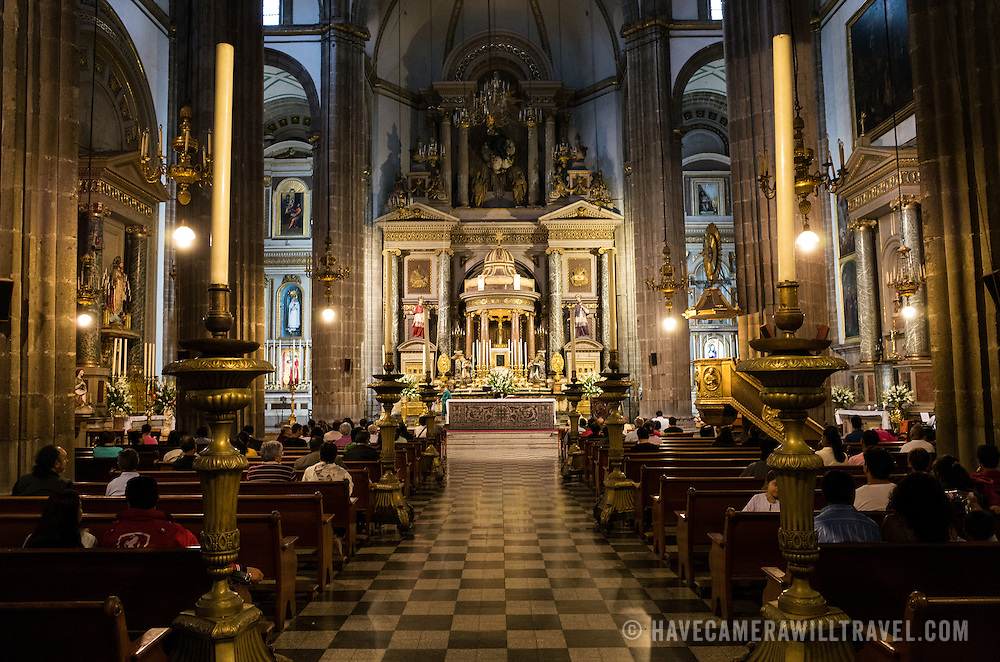 Often known simply as La Profesa, the Temple of San Felipe Neri is a 17th century Roman Catholic Church in the Centro Historico district of downtown Mexico City. It was established by the Jesuits and has been the scene of a number of historic events in Mexico's history.