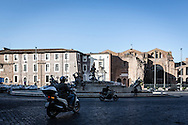 Roma, Lazio, Italia, 31/05/2016<br /> Piazza della Repubblica, a pochi passi dalla stazione Termini<br /> <br /> Rome, Lazio, Italy, 31/05/2016<br /> The Republic's square, few steps far from the Termini train and metro station