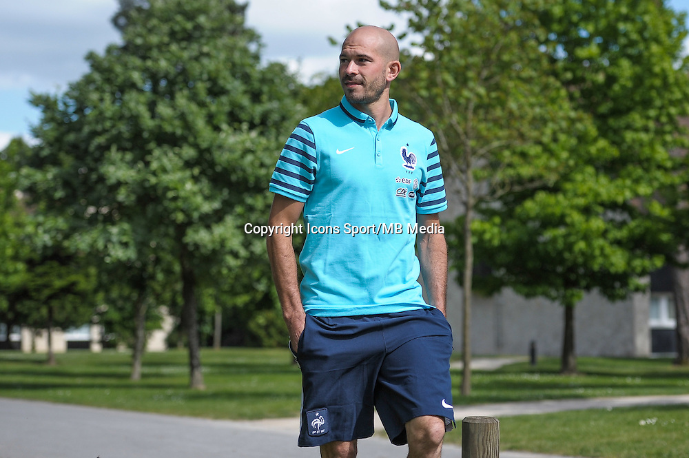 Christophe Jallet - 01.06.2015 - Entrainement - Equipe de France - Clairefontaine<br />
