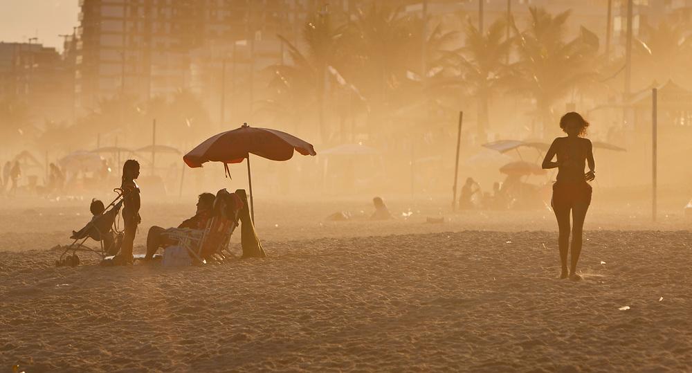 Beach life in Rio de Janeiro