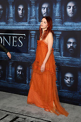 Hannah Murray at the Game of Thrones Season 6 Premiere Screening at the TCL Chinese Theater IMAX on April 10, 2016 in Los Angeles, CA. EXPA Pictures © 2016, PhotoCredit: EXPA/ Photoshot/ Kerry Wayne<br /> <br /> *****ATTENTION - for AUT, SLO, CRO, SRB, BIH, MAZ, SUI only*****