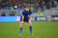 Jules PLISSON - 15.03.2015 - Rugby - Italie / France - Tournoi des VI Nations -Rome<br /> Photo : David Winter / Icon Sport