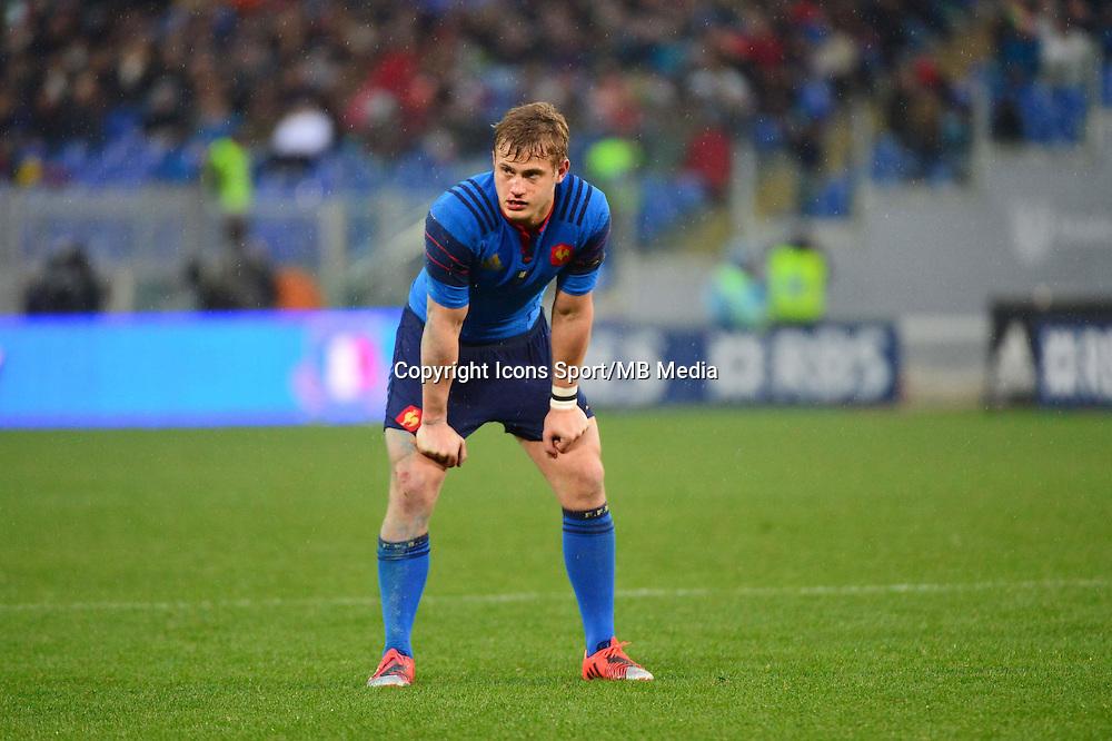 Jules PLISSON - 15.03.2015 - Rugby - Italie / France - Tournoi des VI Nations -Rome<br /> Photo : David Winter / Icon Sport