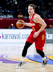 Dmitrii Kulagin of Russia during basketball match between National Teams of Greece and Russia at Day 14 in Round of 16 of the FIBA EuroBasket 2017 at Sinan Erdem Dome in Istanbul, Turkey on September 13, 2017. Photo by Vid Ponikvar / Sportida