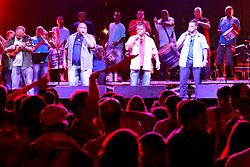 Banda da Saldanha durante o Planeta Atlântida 2013/RS, que acontece nos dias 15 e 16 de fevereiro na SABA, em Atlântida. FOTO: Itamar Aguiar/Preview.com
