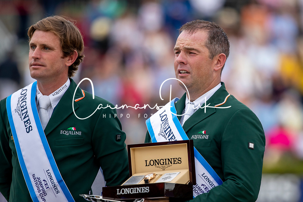 Pessoa Rodrigo, Kenny Darragh, O'Connor Cian, IRL<br /> Longines FEI Jumping Nations Cup Final<br /> Challenge Cup - Barcelona 2019<br /> © Dirk Caremans<br />  06/10/2019